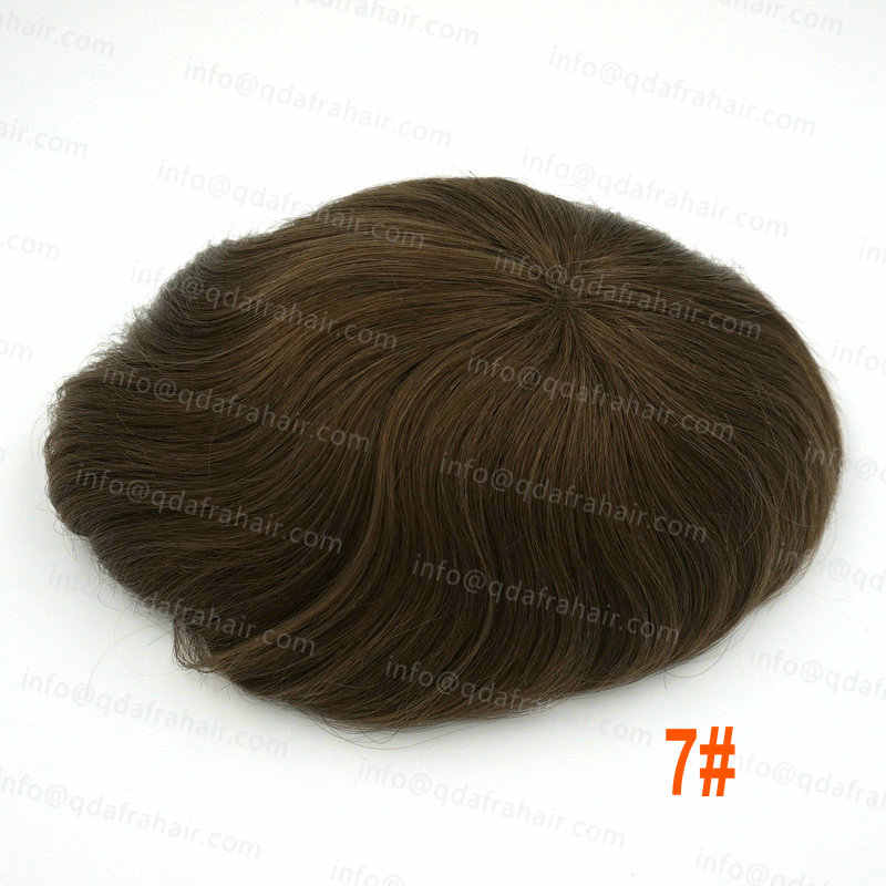 c77765fdf1 ... Hstonir Mens French Lace Wig Remy Hair With Closure Best Men Blond Hair  Toupee H039