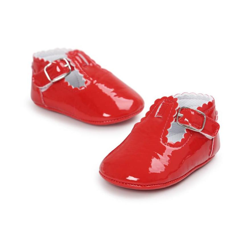 Newborn Baby Letter Princess Soft Sole Shoes Toddler Sneakers Casual Shoes solid genuine leather buckle shoes for girls hot sale