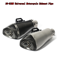51MM Universal Motorcycle Exhaust Muffler Carbon Fiber Muffler Pipe Case For Honda CBR1000 Yamaha R6 Kawasaki Exhaust Pipe