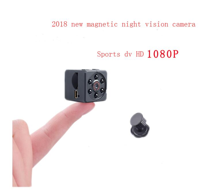 2018 New Digital Camcorder Night Vision IR Wide Angle Camera Mini Camera Sport DV