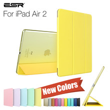 ESR Yippee Color PU+Transparent PC Back Ultra Slim Light Weight Scratch-Resistant Case for iPad Air 2