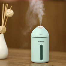 320ML Air Humidifier 35 Degree Oblique Spray Ultrasonic Aroma Diffuser USB Mist Maker For Home Office Car Babyroom