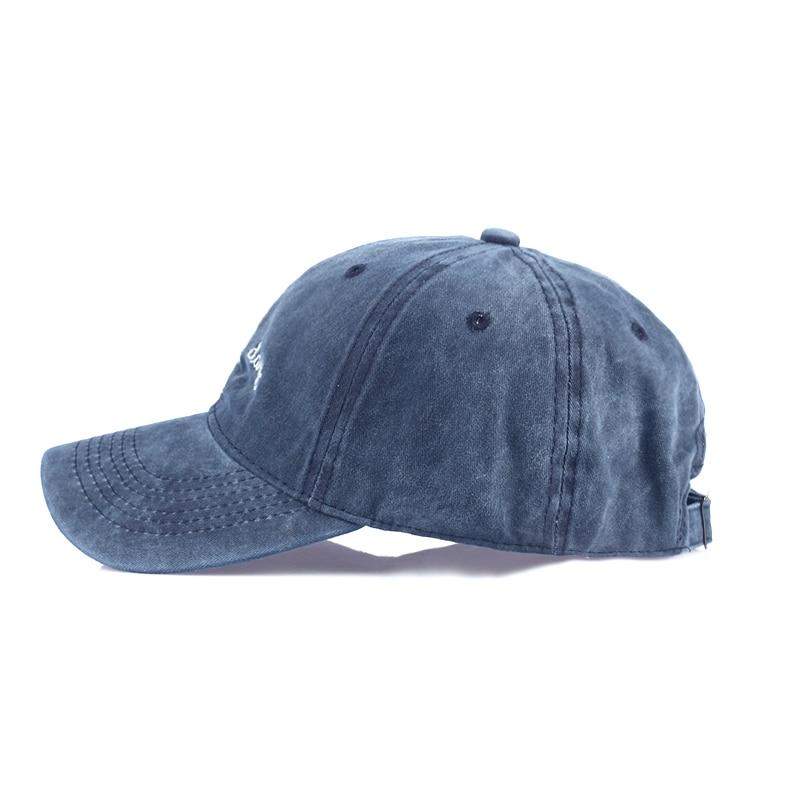 new Bad Hair Day Cap Washed Baseball Cap Women Men Hat Cap Casual Snapback Letter Dad Hat Summer Cotton Adjustable Bone Male 1