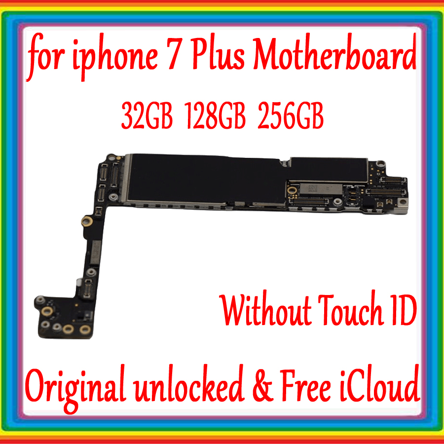 32GB 128GB 256GB for iphone 7 Motherboard Original unlocked ,with Free iCloud for iphone 7 4.7inch Mainboard without Touch ID32GB 128GB 256GB for iphone 7 Motherboard Original unlocked ,with Free iCloud for iphone 7 4.7inch Mainboard without Touch ID