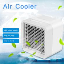 Mini Portable USB Air Conditioner Humidifier Purifier Desktop Cooling Fan Cooler for Office Home Appliances