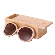 Luxury Style Wooden Sunglasses For Women