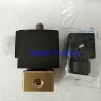 Válvula eletromagnética da válvula solenóide para o banco comum do teste do trilho