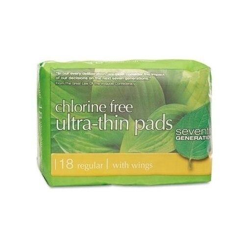 Seventh Generation 61442 Ultra Thin Regular Pads seventh generation nat paper towels 120 cnt 120 count