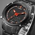 Luxury Brand Men's Quartz Analog Digital LED Sport Watches Men Waterproof Army Military Wrist Watch Relogio Masculino Hour Clock