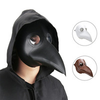 Takerlama Cospaly Dr Beulenpest Steampunk Plague Doctor Mask Faux Leather Birds Beak Masks Halloween Art Cosplay