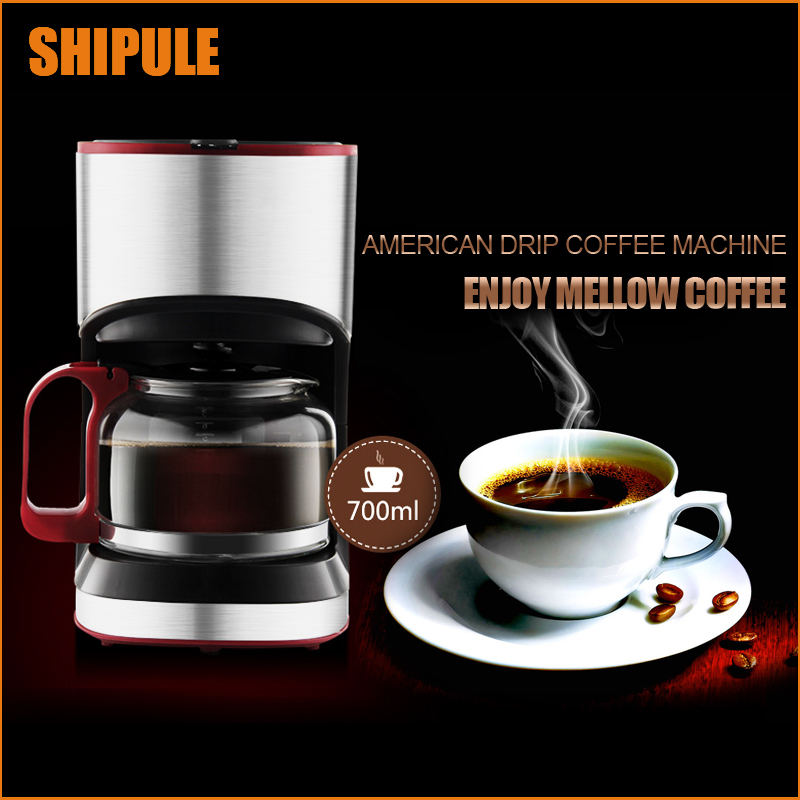 SHIPULE New Coffee Machine home office Semi-automatic Italy Type Cappuccino Espresso Coffee Maker HOT SALES