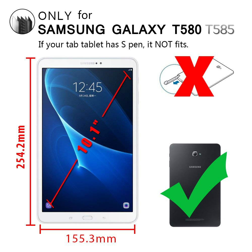 For Samsung Galaxy Tab A6 10.1 SM-T580/T585N Screen Protector 9H LCD Tempered Glass For Samsung Tab A (2016) 10.1 T580 T585 T587