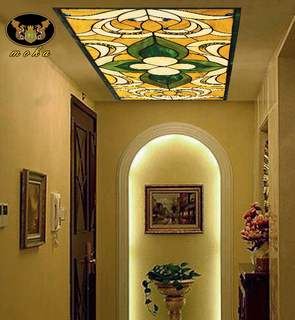 European custom entrance hallway hallway ceiling church wall art ...