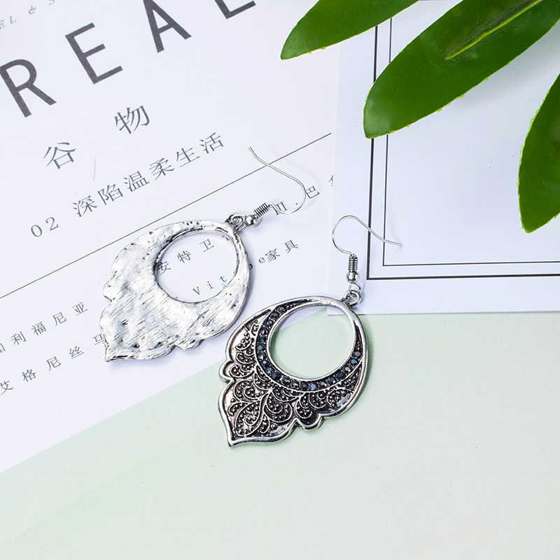 2018 nova moda moda moda brincos de jóias femininas acessórios de jóias do vintage pendurado gota de água brincos para as mulheres