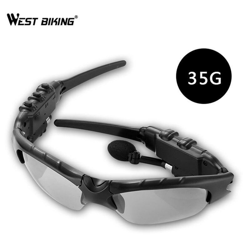 WEST vélo lunettes de vélo lunettes de cyclisme lunettes de soleil polarisées Sports de plein air vtt vélo moto lentilles UV400 vélo lunettes