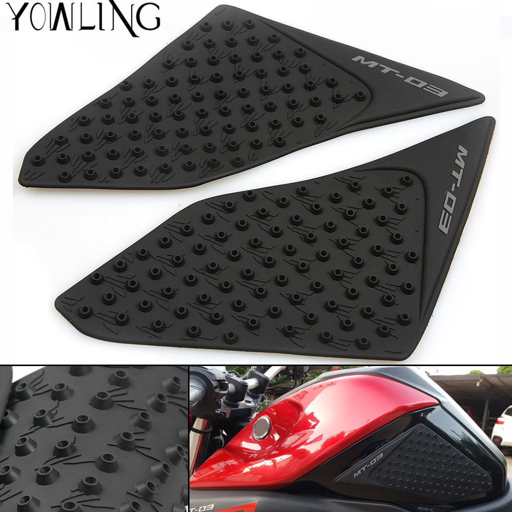 Covers & Ornamental Mouldings Automobiles & Motorcycles Bjmoto For Yamaha Mt03 Mt-03 2015 2016 Motorcycle Protector Anti Slip Tank Pad Sticker Gas Knee Grip Traction Side Decal Sales Of Quality Assurance