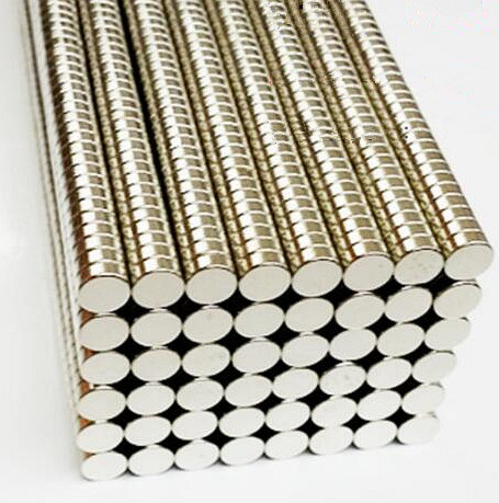 Hot selling 500pcs disc 5x2mm n50 rare earth permanent strong neodymium magnet bulk NdFeB magnets nickle earth 2 vol 5