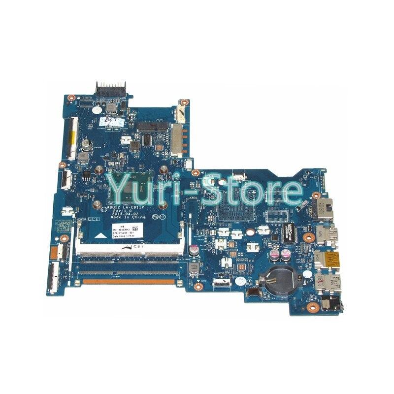 NOKOTION ABQ52 LA-C811PFor HP 15-ac 15-ac505tu Sr29h Laptop 815248-501 Main Board Uma Celeron N3050 CPU 1.6 Ghz DDR3 nokotion zs051 la a996p 764262 501 764262 001 motherboard for hp 15 g series laptop main board cpu ddr3