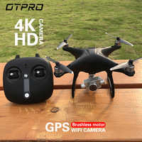 Drone OTPRO O3 RC Drone Quadrocopter 5G 1080 P grand Angle WIFI FPV HD caméra GPS Position suivre Circyling Altitude planant X183
