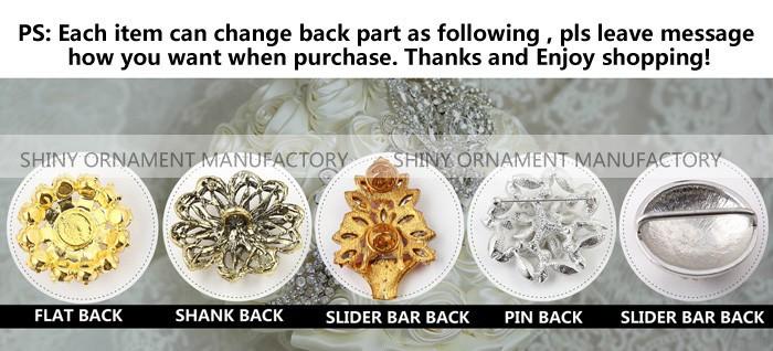 верхний -быстро 25 мм серебро искра горный хрусталь лежа задняя часть пуговица одежда пуговица приглашение украшение пуговица