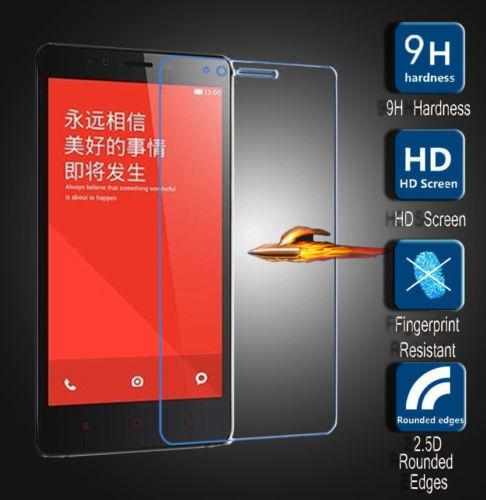 för xiaomi 4 Mi4c Mi4i mi4s Mi5 Xiaomi Redmi 5A 4A 3 3S 3X 1s 2 2s 2A RedMi note 3 2 pro härdat glas skärmskyddsfilm