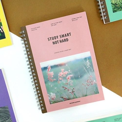 Nature And Animal Theme Creative Coil Notebook DIY Study Planner 176P School Office Supplies sosw fashion anime theme death note cosplay notebook new school large writing journal 20 5cm 14 5cm