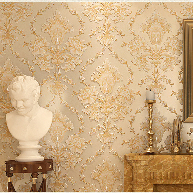 Wallpapers Youman Italian Style Modern 3D Embossed