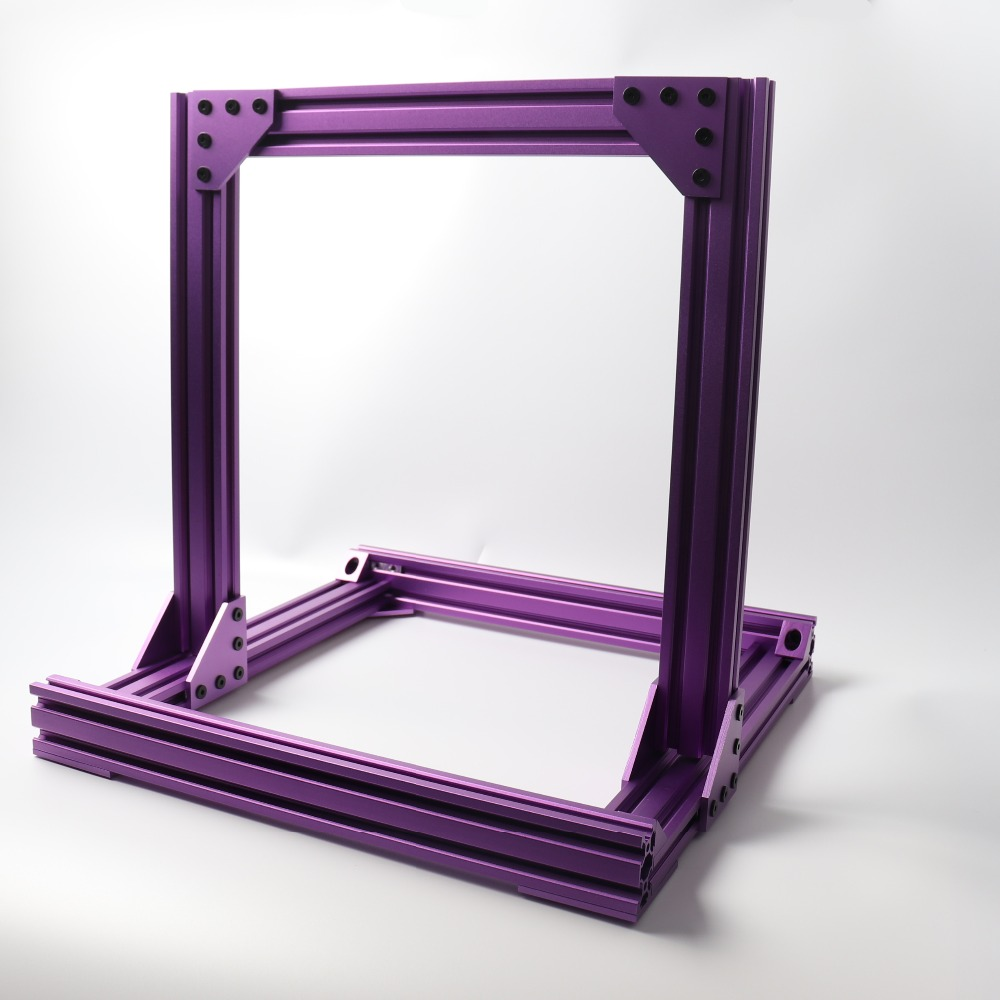 2040-Frame Profile-Kit Prusa I3 MK3 MK3/MK3S Colorful title=