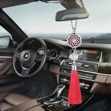 Украшение автомобиля освежитель воздуха автомобильный парфюмерный Диффузор Подвеска с кисточкой Висячие украшения зеркало заднего вида подвеска Украшение G02