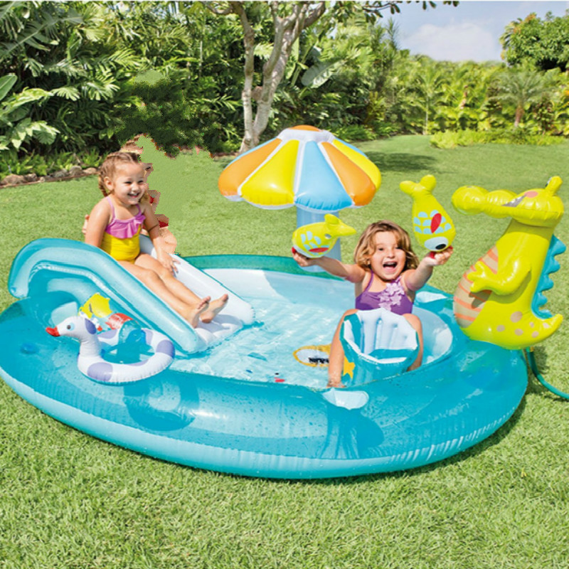 Inflatable cartoon Crocodile Slide spray Water park Childrens swimming pool Inflatable alligator waterpot entertainment toyInflatable cartoon Crocodile Slide spray Water park Childrens swimming pool Inflatable alligator waterpot entertainment toy