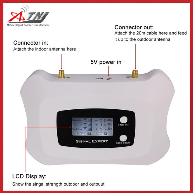 Europa 4G LTE 800 MHz Band 20 Handysignal 4G FDD LTE ALC 70 dB - Handy-Zubehör und Ersatzteile - Foto 5