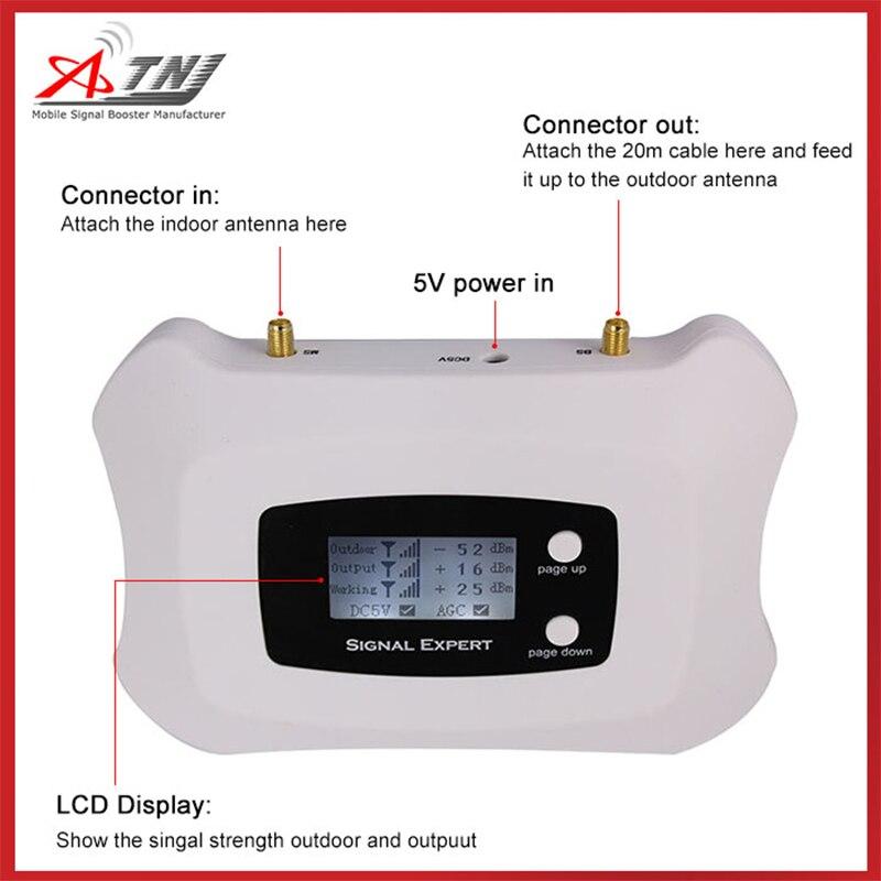 Eropa 4G LTE 800 MHz Band 20 Sinyal Ponsel 4G 4G FDD LTE ALC 70dB - Aksesori dan suku cadang ponsel - Foto 5