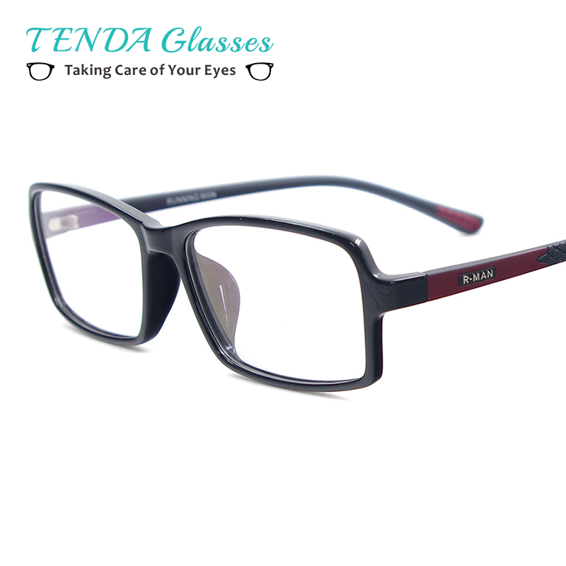 Rhombus Octagonal Triangle Pattern Glasses Case Eyeglasses Clam Shell Holder Storage Box