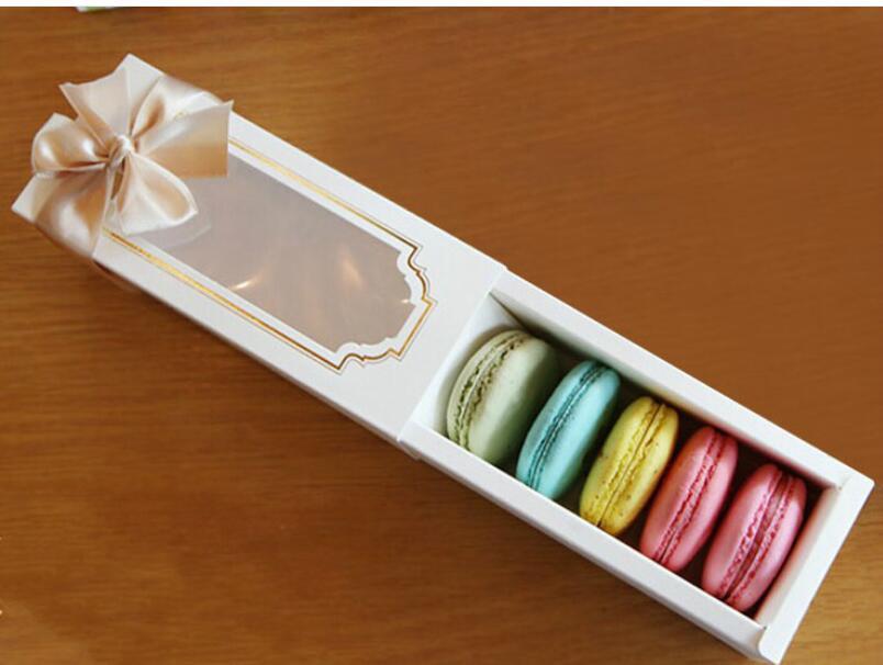 Hot New Window Macaron box cake box gift box 200PCS LOT