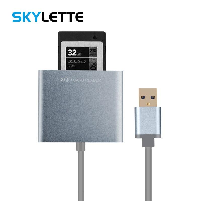 XQD Carte Lecteur 500 m/s Compatible Toutes Les Capacités XD USB 3.0 Interface Caméra Kit Pour Nikon D4 D5 D500 Sony caméra Ordinateur portable