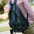 Saco stacy venda quente mais popular homens moda saco de escola estudante mochila de viagem mochila de couro masculino breve sólida laptop sacos