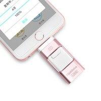 USB Flash Drive Voor iPhone 8 7 Plus iPad Lightning Flash Drive 8 GB 16 GB 32 GB 64 GB 128 GB otg Pen Drive Pendrive Geheugenstick USB