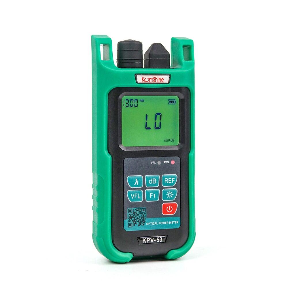Compteur de puissance optique de Fiber de KPV-53 KOMSHINE-70 à + 3dBm 10 mw 5 km testeur de câble à Fiber optique localisateur de défaut visuel outil de testeur FTTH