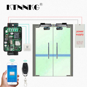 Image 2 - KTNNKG Wifi Remote Switch Wireless Remote Relay Receiver 1CH DC 12V 24V 36V 10A  433Mhz APP Voice Control For Electronic Lock