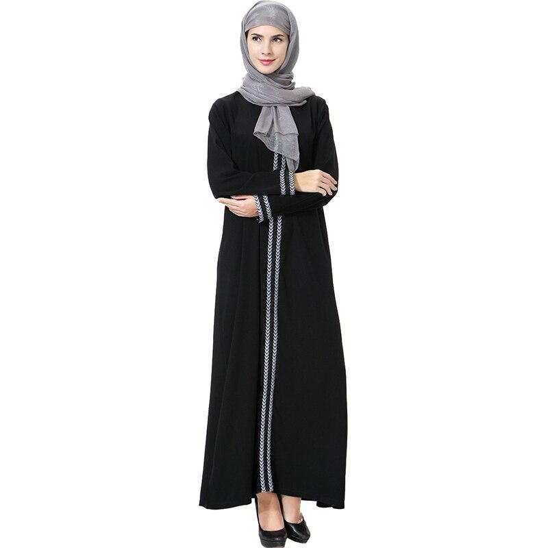07f33c1b2 زائد حجم الأوسط الشرق الأزياء مسلم الكبار العربي مسلم التطريز ...