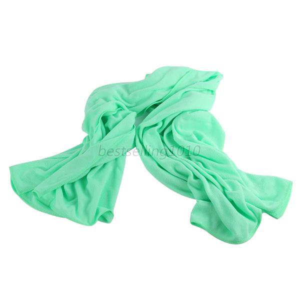 70*140 см большое полотенце для ванны быстросохнущее микрофибра Спорт Пляж плавать путешествия Кемпинг мягкое полотенце s - Цвет: light green