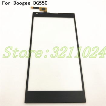 Panel táctil de 5,5 pulgadas probado por 100% para Doogee Dagger DG550 lente de cristal exterior frontal con Sensor de Digitalizador de pantalla táctil + herramientas