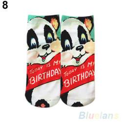 Лидер продаж 3D печатных унисекс для мужчин's женщин Harajuku стиль Low Cut носки до щиколотки 22E7