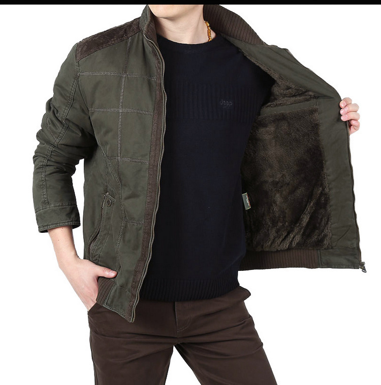 2017 AFS JEEP Winter Jacket Coats Men Cashmere inner Man's patchwork motorcycle Jackets,fashionable man's Brand Outwear Cargo4XL