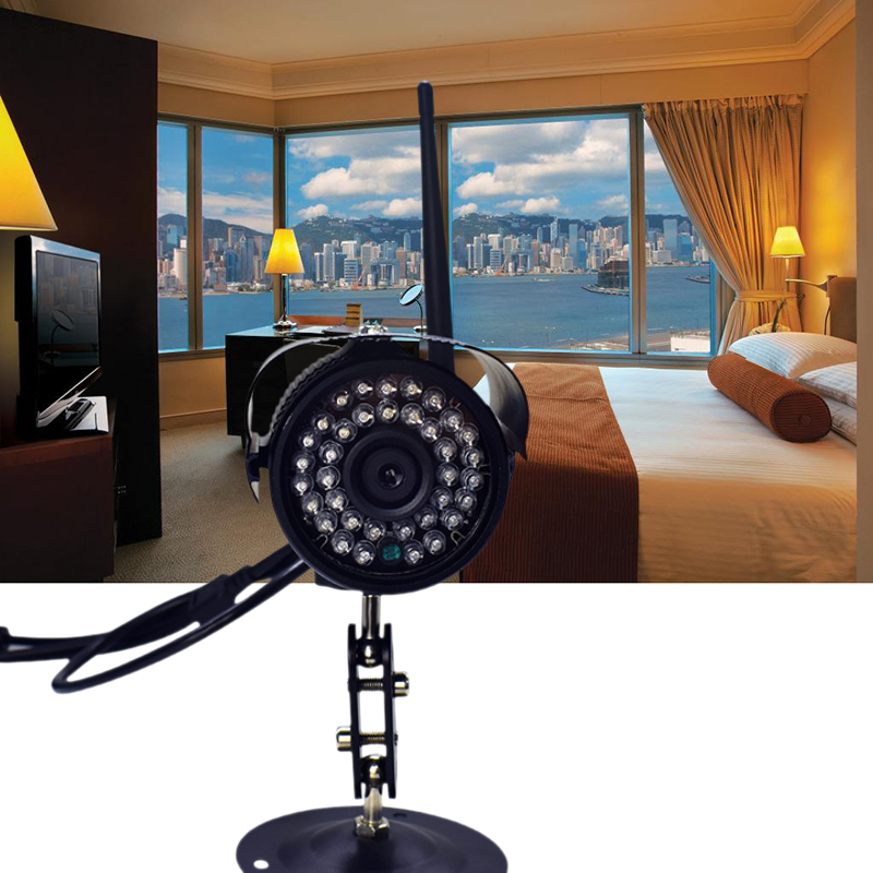 Seven Promise Hd 1080p Metal 2.0MP Wifi Ip Camera Wireless Surveillance Security 36pcs Infrared Lights Cmos CCTV Night Vision only a promise