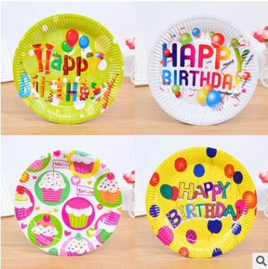 Lovely Disposable Dinnerware Set Birthday Party Paper Plate Wedding Decorative Tableware Festival Food Servers Party Supplies-in Disposable Party Tableware ...  sc 1 st  AliExpress.com & Lovely Disposable Dinnerware Set Birthday Party Paper Plate Wedding ...
