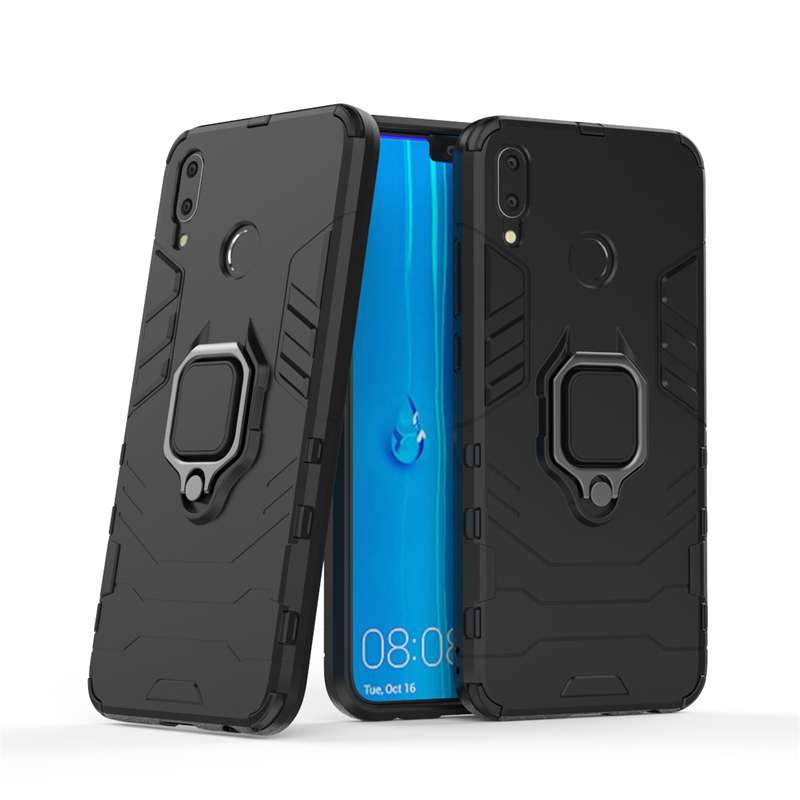 For Huawei Y9 2019 Case Magnetic Finger Ring Kickstand Hard Phone Case For Huawei Enjoy 9 Plus Cover For Huawei Y9 Fundas