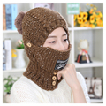 New Warm mouth Mask earmuff  hat Winter Outdoor Windproof Anti-Dust Thick Winter Warm Snow Women Face Mask Motorcycle Cap Masks