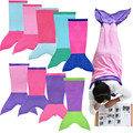iEFiEL Mermaid Blanket Towel Envelopes Kids Soft Animal Sleeping Bag Pajamas Overalls Children Adult Quilt Velvet Shark Blanket