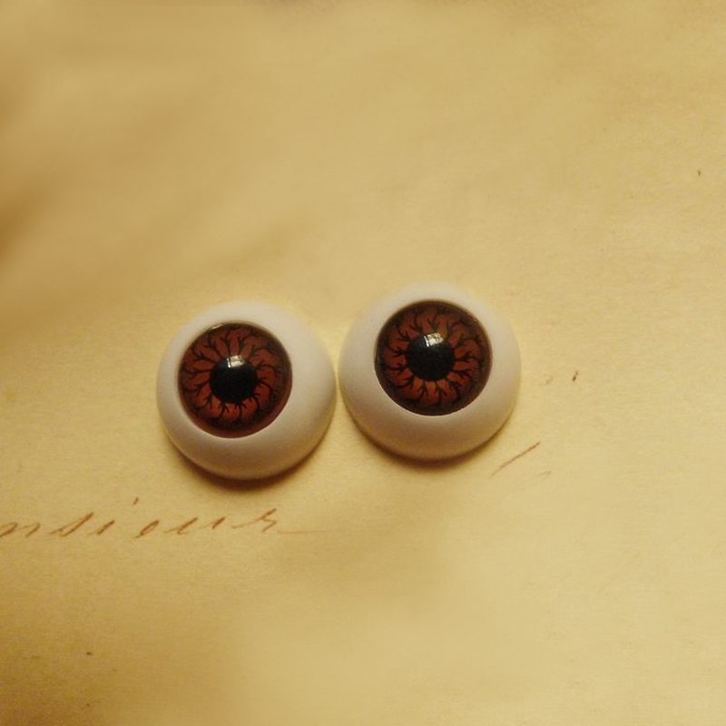 new arrival top sale 8pcs eyes eyeballs for into mask skull halloween props party pack half
